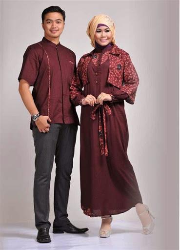 Desain Baju Couple Dress Gamis