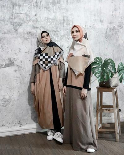2. Hijab Syari Segi Empat