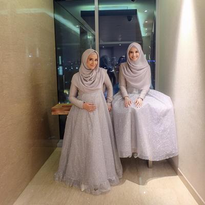 3. Hijab Syari Pesta
