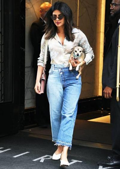 Celana kulot jeans