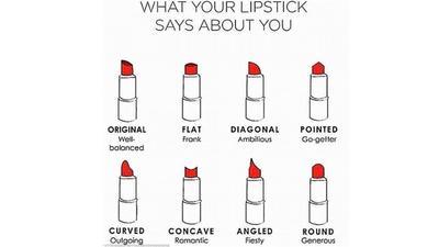 [FORUM] Katanya bentuk lipstick setelah dipakai bisa menggambarkan kepribadian kalian nih say!
