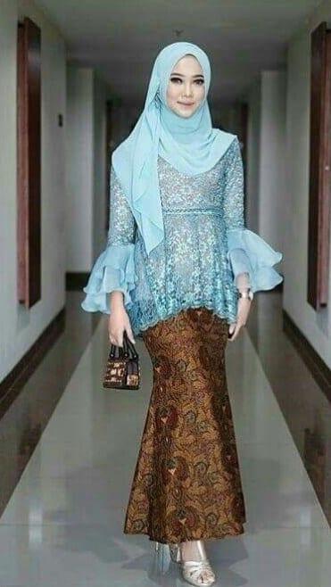 Hijab Modern Simpel untuk Kebaya