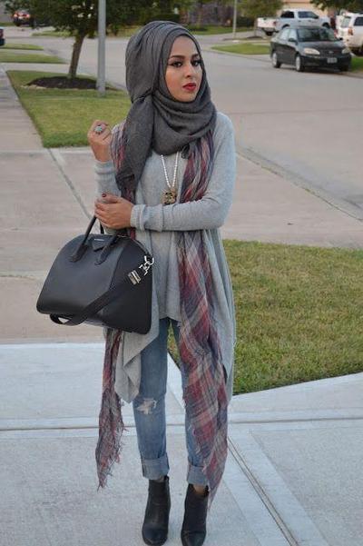 Style Hijab Modern Simpel