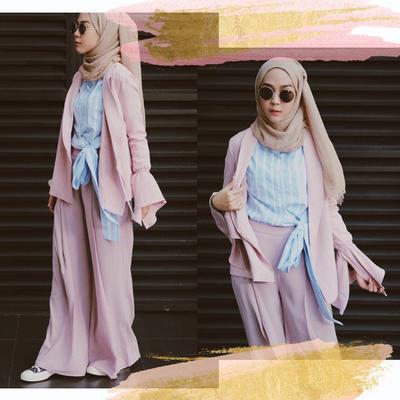 Mix and Match Hijab Style Kondangan Ala Selebgram Strngrrr untuk Hijabers Bergaya Tomboy