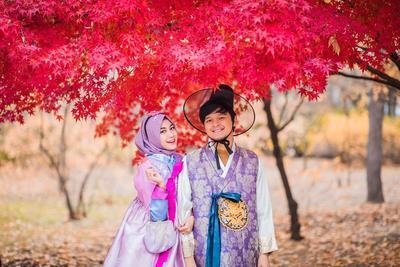 Gaya Anisa Rahma Bulan Madu di Negeri Gingseng, Secantik Oenie Korea!
