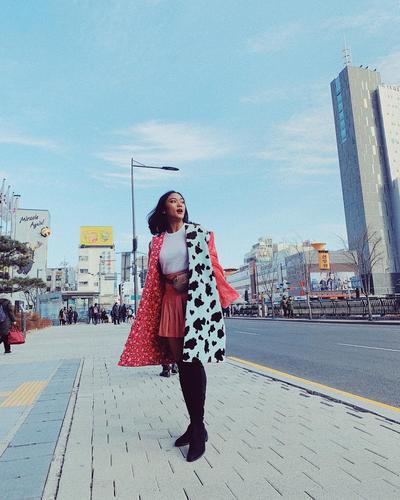 4. Saat Berjalan-jalan di Seoul