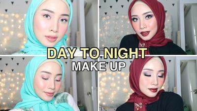 Coba Nih Tutorial Day To Night dengan Makeup Wardah, Cantik dan Awet Seharian!