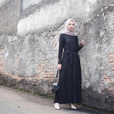 Tips Menemukan Padu Padan Hijab Style yang Pas untuk Tubuh Tinggi Ala Bahjatina