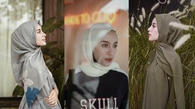 Anti Monoton, Cara Memakai Hijab Ala Aghnia Punjabi Ini Bisa Menginspirasimu Tampil Stylish