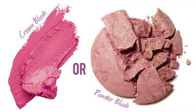 [FORUM] Lebih suka pake blush on cream atau powder nih?
