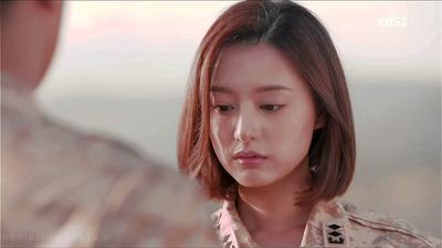 Model Rambut Wanita Dalam Drama Korea - Yang Myeong Joo (Descendants of The Sun)