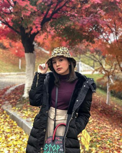 Imu Banget! 5 Korean Style ala Beby Tsabina yang Bikin Kamu Makin Stylish