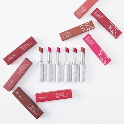 2. Wardah Long Lasting Lipstick