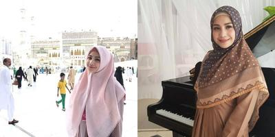 5 Fashion Hijab ala Nagita Slavina, Harganya Bikin Gemetar!