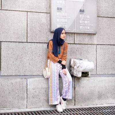 Masih Hits, Intip Inspirasi Outfit dengan Setelan Kulot yang Kekinian
