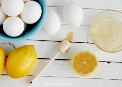 5. Lemon dan Putih Telur