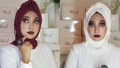 Kumpulan Hijab Unik yang Tren di 2018, dari Hijab Pocong - Ikan Bawal!
