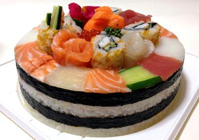 4. Sushi Tart