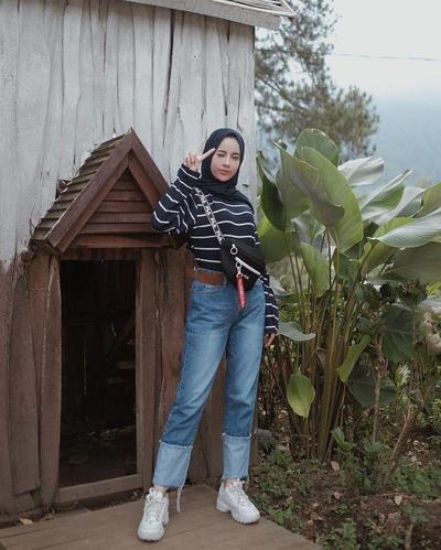 Style Hijab Casual ke Kampus