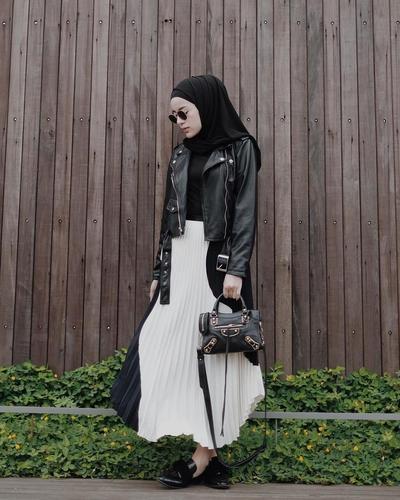 Style Hijab Casual Rok