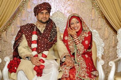 Pengantin Muslim - Indian Style