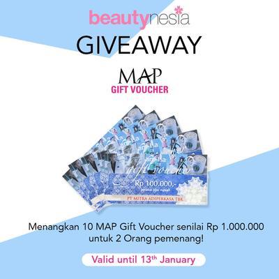 [GIVEAWAY ALERT] Mau Belanja Gratis? Ikutan Giveaway Berhadiah Shoppping Voucher Senilai Total Rp. 1.000.000 Yuk!