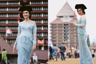 Style Outfit Wisuda Kekinian Ala Artis Indonesia Ini Pasti Bikin Kamu Semangat Selesai Skripsian!