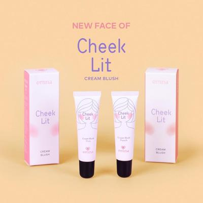 Nudie Brown & Violet, Varian Warna Baru Emina Cheeklit Cream yang Menggemaskan