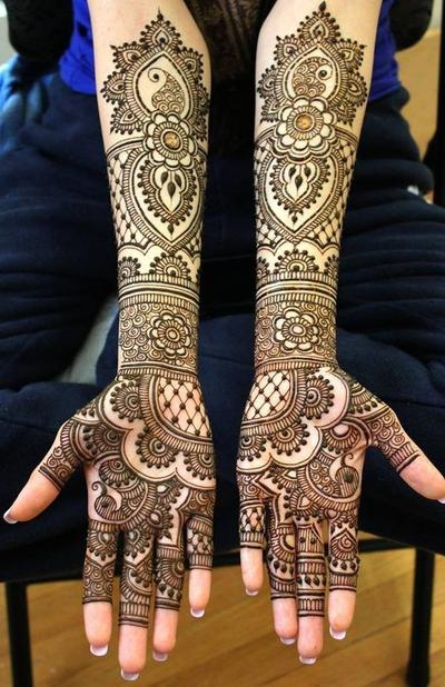Desain Henna India
