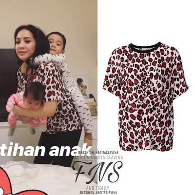 2. Leopard Print T-shirt