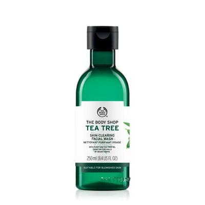 1. The Body Shop Tea Tree Facial Wash