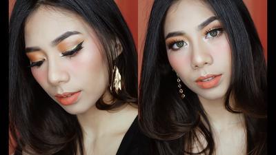 5 Inspirasi Makeup Orange yang Fresh untuk Sehari-hari ala Beauty Vlogger!