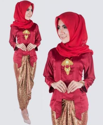 3. Model Kebaya Hijab Kutubaru
