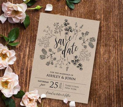 Sederhana dan Berkelas! Ini Dia 5 Desain Undangan Pernikahan yang Bisa Jadi Inspirasimu