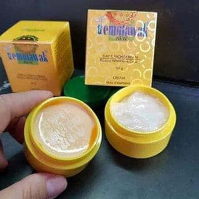 1. Kemasan Cream Temulawak