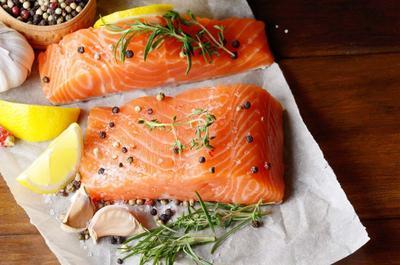 4. Konsumsi Salmon