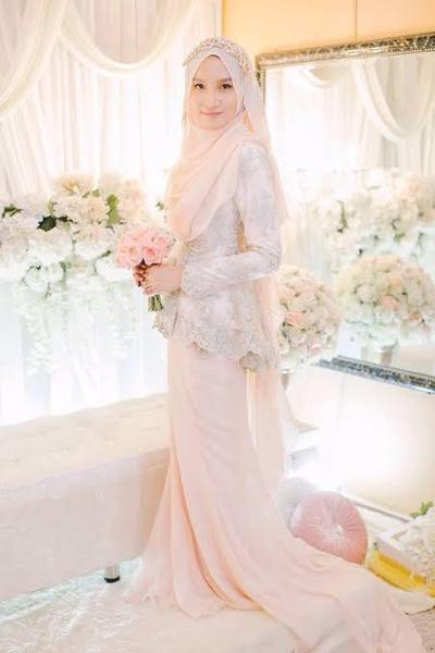 Model Hijab Pengantin Baru