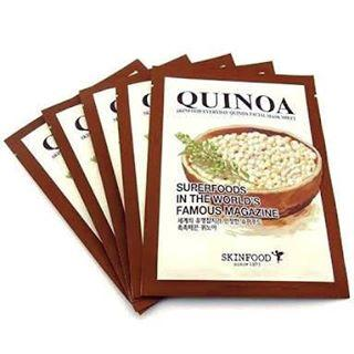 1. Skinfood Quinoa Facial Mask Sheet