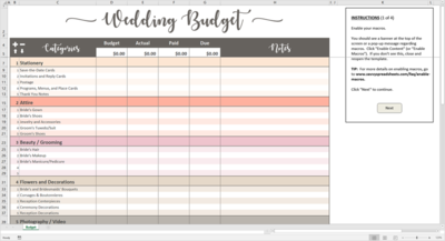 Tentukan Budget Bersama Pasangan Kalian