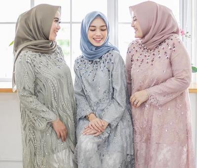 [FORUM] Inspirasi Model Baju Gamis Brokat Terbaru