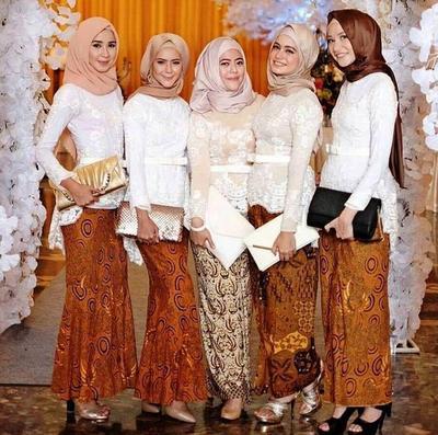 Benar-benar Cantik! Model Kebaya Modern Hijab Ini, Oke Banget Buat Datang ke Pesta Pernikahan Lho