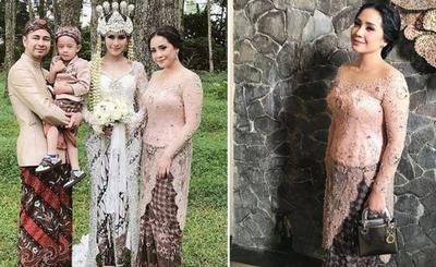 Nagita Slavina Sukses Curi Perhatian di Pernikahan Syahnaz Sadiqah