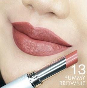 Wardah Intense Matte Lipstick No 13 (Yummy Brownie)