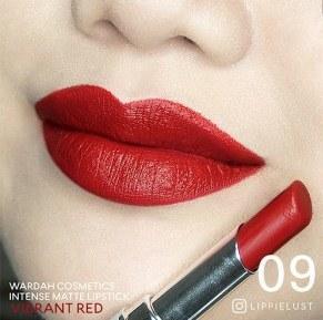 Wardah Intense Matte Lipstick No 9 (Vibrant Red)