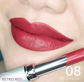 Wardah Intense Matte Lipstick No 8 (Retro Red)