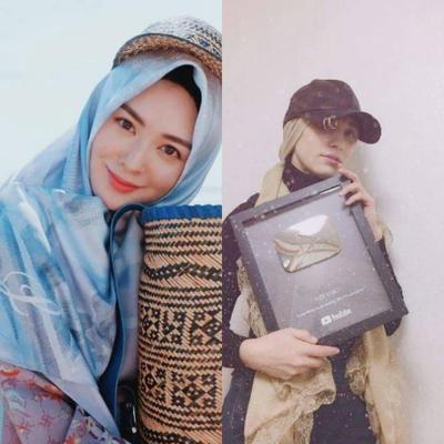 4. Memadukan Hijab dengan Topi