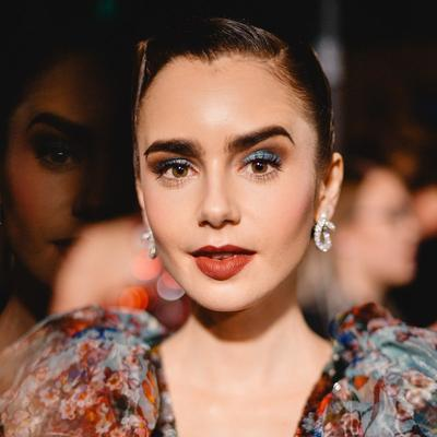 Lily Collins - Earthy and Electric