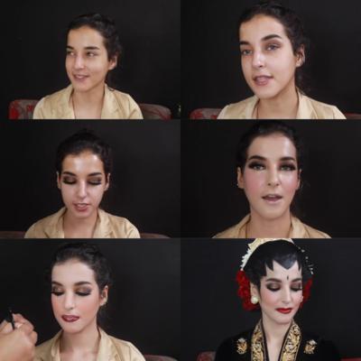 3. Make Up Pengantin Jawa
