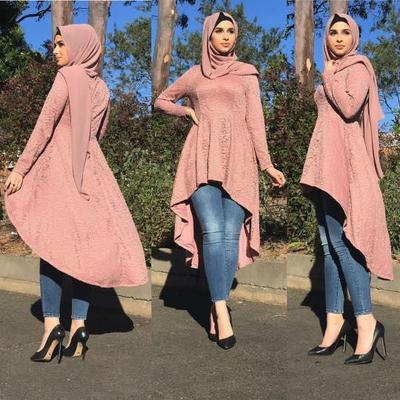 5 Inspirasi Style Hijab Kondangan dengan Celana Jeans, Tetap Kece Lho!