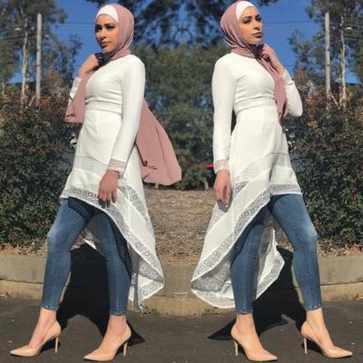 2) Style Hijab Kondangan Model Pashmina Sifon
